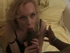 Horny hot blonde can't get enough cock