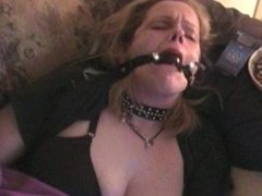 Gagged smoking heaven