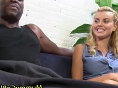 Nasty MILF Teach Daughter to suck big dick
