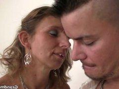 Couple invite him for hot threesome