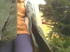 2 lesbian girl outdoor