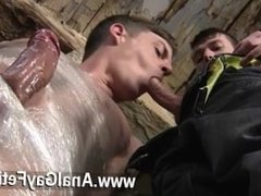 Gay XXX Horny dude Sean McKenzie is already roped up, but Matt has a