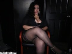 Gloryhole Secrets BBW Katrina loves cocks cumming 1