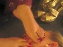 Indian feet worship