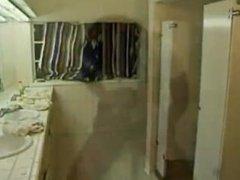Allysin Chaynes Bathroom Blowjob to Sleepwalking Guy