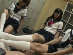 Japanese Gang Feet Smelling part 2 (jap audio)