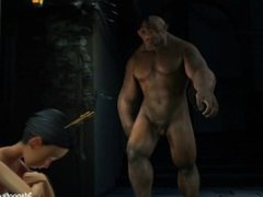 Juicy Wet Fairy fucks hobo hard and ends in a golden shower #2