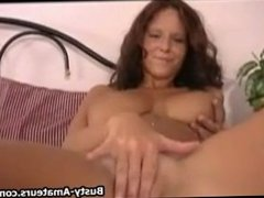 Wendy doing her first masturbation on cam