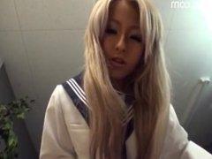 Japanese School Girl is the Queen