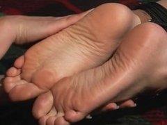 tied up feet