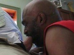 Black sucking Chub White Guy
