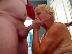 Genital massage from grandmother