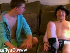 Gay fuck Trace films the action as William and Damien hook up for the