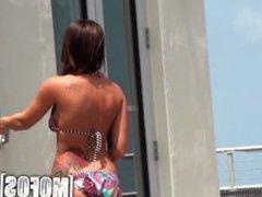 Mofos - Jamie Jackson is one hot beach girl