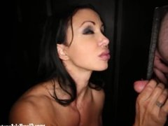 Gloryhole Secrets Jewels Jade Cum swallowing at gloryhole 3