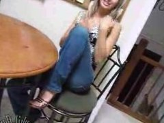 Teen Kasia High heels and Jeans