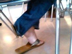latina sexy feet at the DMV