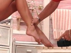 Sexy foot fetish babes love having part2