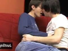 Gay clip of They deepthroat each others cut fuck-sticks before both of