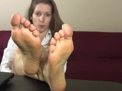 Secretary foot joi
