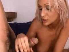 AMWF White Milf interracial with Asian guy