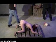 Dungeon Master Trains Dungeon Apprentice How To Flog And Torment Submissive