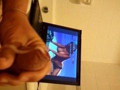 laptop wank and CUM watching Alexa of ETV