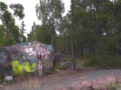 EvelinaJuliet - Masturbation in nature