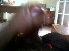 Jamaica dude nutting