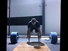 I compete in Powerlifting this is a double at 180kgs (190max)
