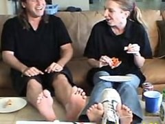 Stinky Feet Pizza Worker Humiliation