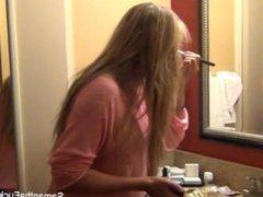 Hottie Samantha Saint's behind the scenes footage