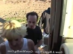 Heidi Ho in the bang van