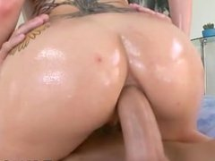 Hot PAWG rides big cock