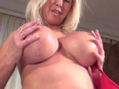 Homemade mature masturbating