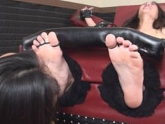 Asian Lickle Tickle Torture Revenge