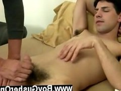 Hardcore gay He is so into the action he is moaning, pumping, and