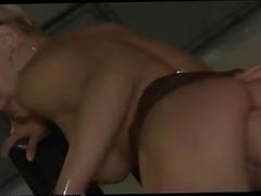 sex show - stripper fingered in public