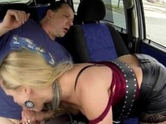 Real WHORE Picked up Between Trucks and Get Paid