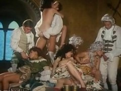 Group Fucking in the noble society