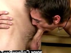 Twink movie of After I had my patient suck his stream all over himself I