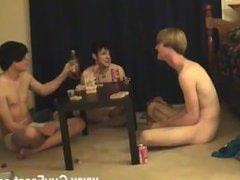 Twink movie Trace and William get together with their new mate Austin for