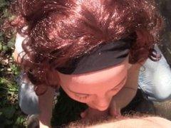 CFNM Blowjob&Swallow POV by Redhead Milf Sylvia Chrystall HD.