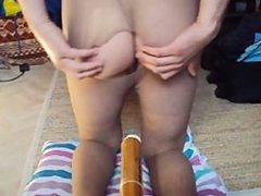 Simatra on Brazil !!! Panties break Anal :)
