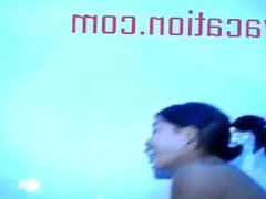 Shower Camera Watches Tiny Asian Cuties Get Wet Ethnic