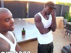 Black monster cock gangbang