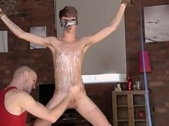 Hot twink Twink guy Jacob Daniels is his recent meal, trussed up and