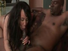 Tia Cherry: Bodacious Ebony Craving For Big Black Cock