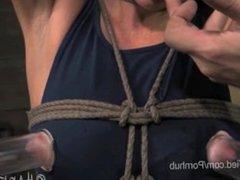 India Summer Nipples Suctioned in Bondage