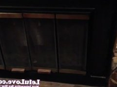 Lelu Love-BLOOPER: There's a squirrel in my fireplace!! :)